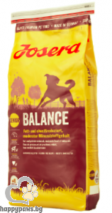 Josera - Balance Gluten Free суха храна за слабо активни кучета в напреднала възраст с пилешко и ориз, 15 кг.