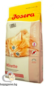 Josera - Minette суха храна за котета, бременни и кърмещи котки с птиче месо, 2 кг.