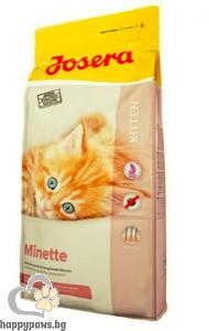 Josera - Minette суха храна за котета, бременни и кърмещи котки с птиче месо, 10 кг.