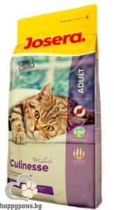 Josera - Culinesse суха храна за израстнали и капризни котки с птиче месо и сьомга, 400 гр.