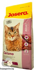 Josera - Carismo суха храна за котки в напреднала възраст с хронична бъбречна недостатъчност с птиче месо, 10 кг.