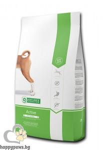Natures Protection - Dog Active суха храна за активни кучета от всички породи, 4 кг.