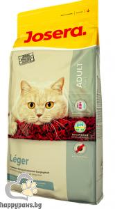 Josera - Leger суха храна за израснали кастрирани котки склонни към наднормено тегло, 10 кг.