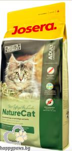 Josera - Nature Cat Grain Free суха храна за чувствителни израснали котки с алергии, 400 гр.