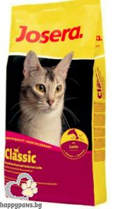 Josera - Classic суха храна за израснали котки със сьомга, 10 кг.