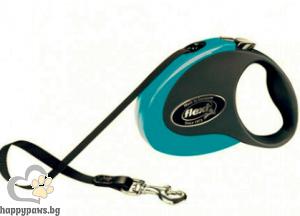 Flexi - COLLECTION M автоматичен повод за куче до 25кг различни цветове, лента 5 метра
