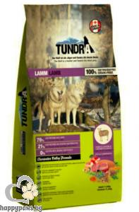 Tundra - Lamb Grain Free суха храна за израснали кучета над 1 година с агнешко месо, 750 гр.