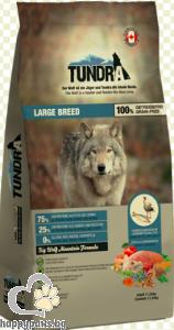Tundra - Large Breed Grain Free суха храна за израснали кучета от едри породи с патешко месо и херинга, 11.34 кг.