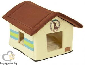 Kerbl - Snugly Cave Wild Life къщичка за куче, 48 x 45 x 36 см