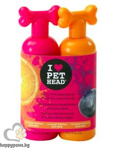 I Love Pet Head Duo - комплект шампоан Dirty Talk 475 мл + крем-лосион Fantastic 475 мл