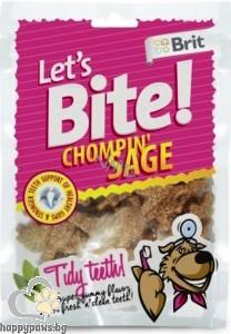 Brit - Let's bite лакомство за чисти зъби, различни вкусове, 150 гр.