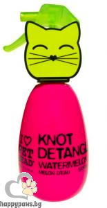 I Love Pet Head - Cat Detangler Спрей за разресване на козината на котка с аромат на диня, 180 мл.
