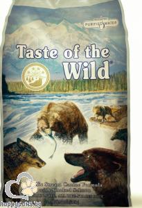 Taste Of The Wild - Pacific Stream Grain Free суха храна за израснали кучета над 1 година със сьомга, 13 кг.