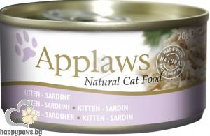 Applaws - Kitten консервирана храна за котенца до 12 месечна възраст, различни вкусове, 70 гр.
