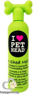 I Love Pet Head - De-Shed Me шампоан за козината на куче с аромат на ягодова лимонада, 354 мл.