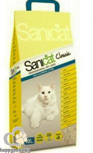 SaniCat - Classic икономична и удобна котешка тоалетна за отлична хигиена и висока надеждност, 10 л.