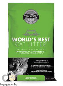 World's Best - Cat Litter Clumping cat котешка тоалетна, 3.18 кг.