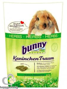 Bunny - Herbs билкова пълноценна основна храна за зайчета над 6 месечна възраст, 1.5 кг.