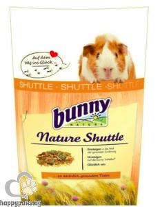 Bunny - Пълноценна храна за морско свинче след 6 месечна възраст Nature Shuttle 600 гр.