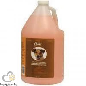 Oster - Orange Cream Shampoo разреждащ се, ултра почистващ шампоан за кучета, с аромат на портокал, 3780 мл.