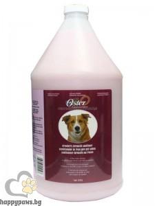 Oster - Strawberry Conditioner разреждащ се балсам за кучета, за копринено мека козина с аромат на ягода, 3780 мл.