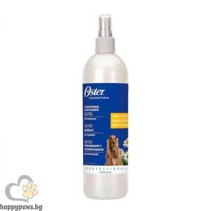 Oster - Conditioning & Detangling Spray спрей за разресване на кучета, UV защита, ароматизиращ, 473 мл.