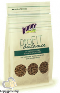Bunny - Pro FIT balance Първа помощ при стресови ситуации за гризачи, 150 гр.