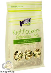 Bunny - Power flake parsley mix Първа помощ при загуба на апетит и телесна маса за гризачи, 100 гр.