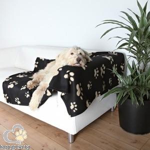 TRIXIE - Мебелна постелка, Барни - черно/бежаво