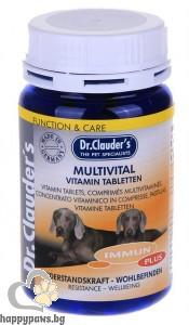 Dr. Clauders - Multivital витамини на таблетки, 200 гр.