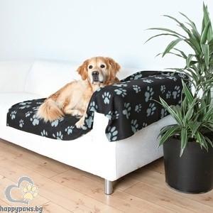 TRIXIE - Мебелна постелка, Барни - черно/сиво
