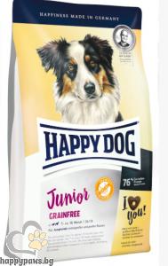 Happy Dog - Junior Grain Free суха храна за малки кученца над 7 месечна възраст, 10 кг.