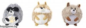 Gimborn - Играчки за кучета горско животинче, плюш, различни размери