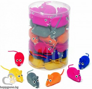 Gimborn - Играчки за котки цветна мишка