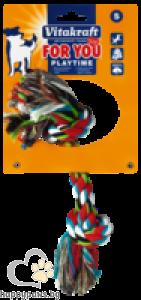 Vitakraft - Играчки за кучета памучен възел, различни размери