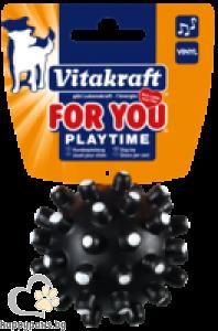 Vitakraft - Кучешки играчки топка мина, 6.5 см.