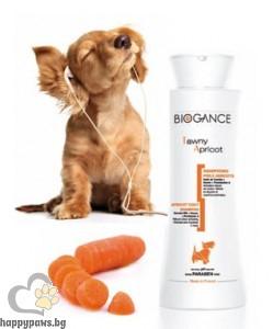 Biogance - Tawny Apricot шампоан за оранжева и кафява козина за кучета, 250 мл.