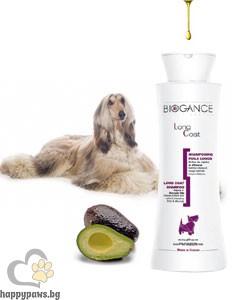 Biogance - Long Coat Шампоан за дългокосмести кучета, 250 мл.