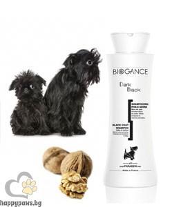 Biogance - Dark Black шампоан за кучета с тъмна и черна козина, 250 мл.