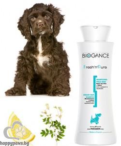 Biogance - Fresh'n'Pure Шампоан за суха и изтощена козина на куче, 250 мл.