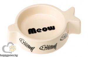 Ferplast - Rigel Bowl купа за храна или вода за котка, 150 мл.