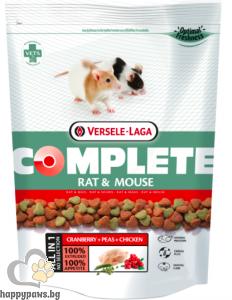 Versele Laga - Rat & Mouse Complete гранулирана храна за плъхове и мишки, 500 гр.