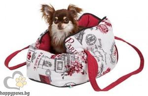 Kerbl - Travel Bag Paris Мека чанта за кучета, 40 см.