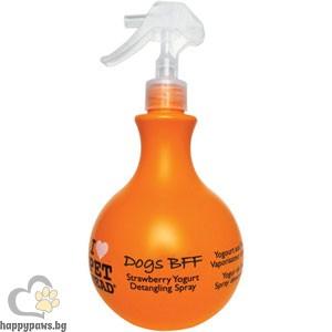 I Love Pet Head - Dog Bff Спрей за козината на куче с яромат на ягодов йогурт, 450 мл.