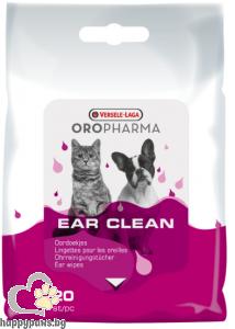Versele Laga - Oropharma кърпички за почистване на уши на котка и куче, 20 бр.