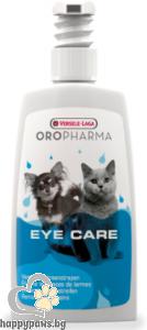 Versele Laga - Oropharma лосион за почистване на oчи на котка и куче, 150 мл.