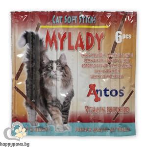 MYLADY - деликатесно лакомство за котета, с вкус агне и пуйка 6бр. , 30гр.