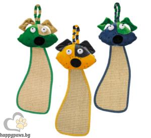 Ferplast - Драскалка играчка за котка, различни цветове 56 x 20 x 8 см.