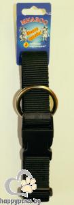 Миазоо - Нашийник спорт регулируем 30мм на 45-65 см, черен