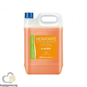 Hydratante шампоан за дългокосмести породи, 5 л.